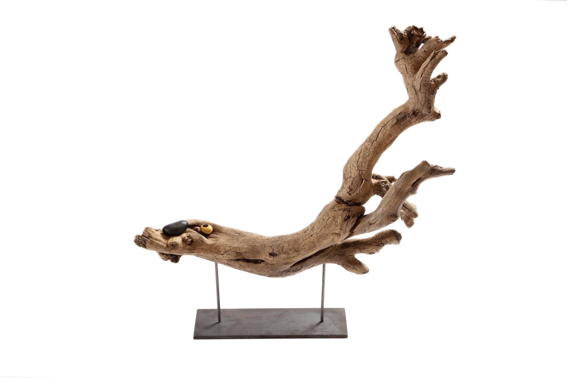 Große Treibholz Skulptur