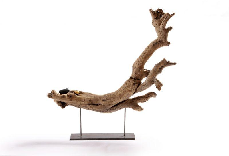 Schwemmholz Skulptur 40 cm breit & hoch