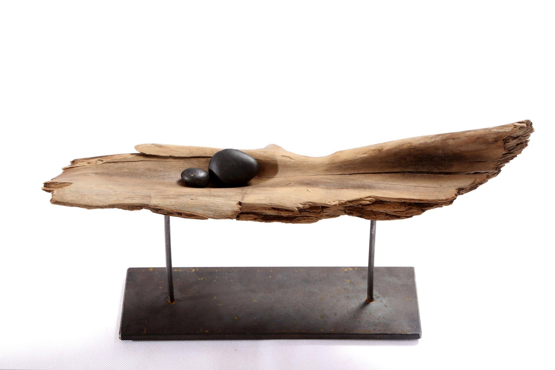Treibholz Skulptur 40 cm breit, 30 cm hoch