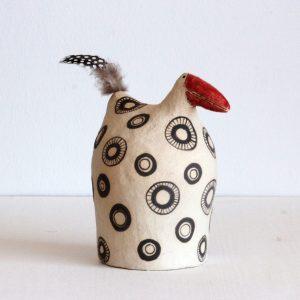 Keramikhühner zum Stellen