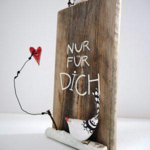 Türschild aus Holz